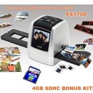 "SVP FS1700 Silver(8GB included) Digital Film Scanner w/ 2.4"" Build-in LCD , ~""World's Smallest Film Scanner""~"