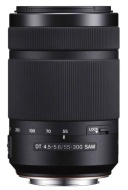 Sony 55-300mm DT f/4.5-5.6 SAM Telephoto Zoom Lens