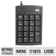 HP Ultra Mini USB Numeric Keypad