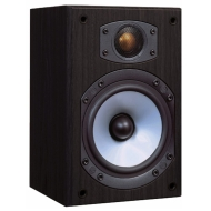 Monitor Audio M1 Speaker (Black Oak Vinyl, Pair)