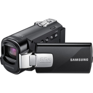 Samsung SMX-F43 - Camcorder - 680 Kpix - optical zoom: 52 x - supported memory: SD, SDHC, MMCplus - flash card - black