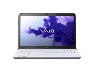 "Sony VAIO E Series 15.5 "" White Laptop - SVE1512JCXW"