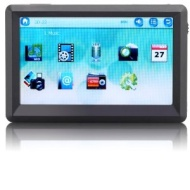 auvisio Portabler Touchscreen-Mediaplayer DMP-720.p für MP3 & Video
