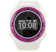hellOO Watch Wit/Roze