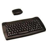 88-KEY Wireless Ir USB Touchpad Mini Black Keyboard