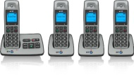BT 2500 Cordless DECT Phone with Answer Machine (Pack of 4)