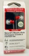 G-Cube Securefit Metallic Ibuds - Red (4th Gen)