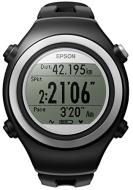 Epson Runsense SF-510 GPS Watch, Black/Grey