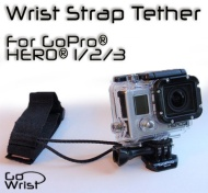 GoWrist GoPro Wrist Strap - Safety Lanyard Tether for HERO HERO2 HERO3