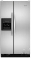 KitchenAid Freestanding Side-by-Side Refrigerator KSRG22FT