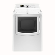 Maytag Bravos Series MEDB850WQ 29 7.3 cu. Ft. Electric Dryer - White