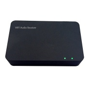 [To Hi-Fi Sound System]douself A900 Protable Mini Wireless Wifi Audio Receiver Adapter 150Mbps 2.4GHz DLNA Airplay for iPhone5/5S/5C/4S/4/3GS/iPad Min