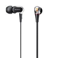 XBA-2 Earphone (Stereo - Black, Silver, Gray - Mini-phone - Cable - 12 Ohm - 4 Hz 25 kHz - Gold Plated - Earbud - Binaural - Open - 3.94 ft Cable)