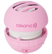 Rokono BASS+ Mini Speaker for iPhone / iPad / iPod / MP3 Player / Laptop - Pink