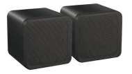 FULL RANGE 4'' 80W BOOKSHELF SPEAKERS BLACK