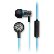 iFrogz Audio Transport Earbuds Hands-free Headset with Mic (Blue)