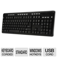 Adesso USB Multimedia Keyboard, Black