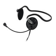 Gear Head AU2200BN Stereo Headset - Behind the Neck, Volume Control, Mic  AU2200BN