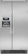 KitchenAid Freestanding Side-by-Side Refrigerator KSRG25FV