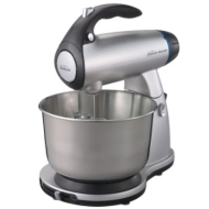 STAND MIXER, SILVER MIXMASTER WITH