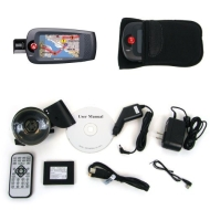 Advent 4 Inch GPS Unit w/ Touch Screen, MP3, & FM Modulator