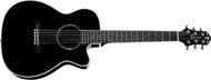 Crafter Guitars - TRV23B - Travel Size Acoustic Guitar - Black