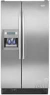 Whirlpool Freestanding Side-by-Side Refrigerator GD5DHAXV