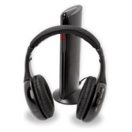 6 in 1 Wireless Headphones For TV Stereo PC MP3 CD DVD Player FM Radio