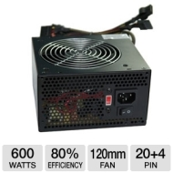 600W Coolmax 12CM Fan Modular Psu Single Pcie 5YR Warr CU-600B