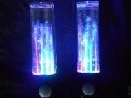 Autek Music Fountain Mini Amplifier Dancing Water Speakers (Black)