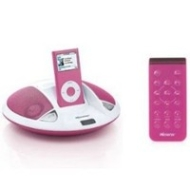 Memorex MI1003 Speaker system for iPod (Pink)