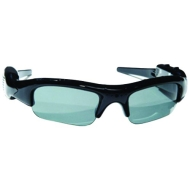 POV Action Polarized Sunglasses with Built-In 4GB Video Camera