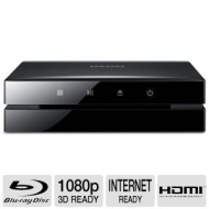 Samsung 3D Blu-ray Disc Player With Full HD 1080p Resolution, Smart Hub, Full Web Browser, AllShare Play, Disc To Digital Streaming Service, WiFi Buil