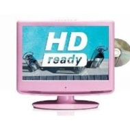 "19"" Pink LCD with Multi Region DVD and Freeview"