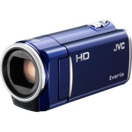 "JVC Everio GZ-HM50 Digital Camcorder with 40x Optical Zoom, 2.7"" LCD, CMOS, 8 GB Flash Memory, Red"