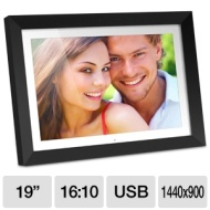Aluratek ADMPF119 - Digital photo frame