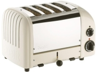 Dualit Canvas White Toaster