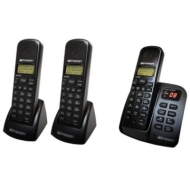 Emerson DECT 6.0 Expandable Cordless Phone w/ Digital Answering System - 3 Handsets