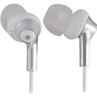 Panasonic Neck Strap Headphones - White With Carrying Case