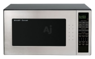 Sharp Carousel R530EST Stainless Steel 1200 Watts Microwave Oven