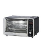 Waring Convection Oven w/ 60-min Timer & LCD Display, Holds 6-Slices or 12-in Pizza