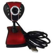 8 Pixel 6 LED Night Vision USB Webcam web camera for PC Laptop,support 800 x 600,Yahoo,MSN,Skype