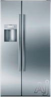 Bosch Freestanding Side-by-Side Refrigerator B22CS50SN