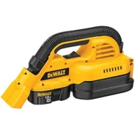 DEWALT Cordless Portable Wet/Dry Vacuum - 18 Volt, 1/2 Gallon, Model# DC515K