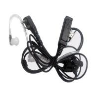 Maximal Power RHF ICOM 2pin 2 Way Radio Surveillance Earpieces for ICOM F3G, F4G, F11, F11S, F14, F14S, F21, F21S, F24, F24S