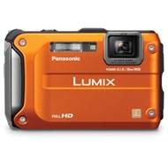Panasonic DMC-TS3 Lumix Digital Camera (Red)