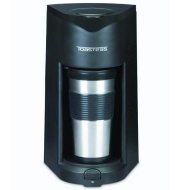 Toastess Coffee Maker with Travel Mug-15 oz.