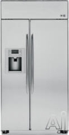 GE Built In Side-by-Side Refrigerator PSB48YSX