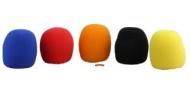 Hisonic BTWS5P Ball-type Microphone Windscreen, 5-pack