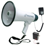 PYLE-HOME PMP45R - Professional Dynamic Megaphone With Recording Function/Detachable Microphone & Rechagable batteries